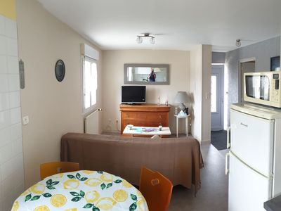 Photo for Furnished apartment 50 m 2 for 4 pers. max 1500 m from the Hatainville beach.