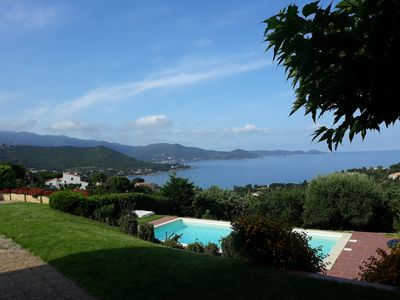 Photo for close to Porticcio - seaside villa 10 pers. with a pool