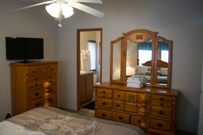 Master Bedroom 2nd view with full Bathroom