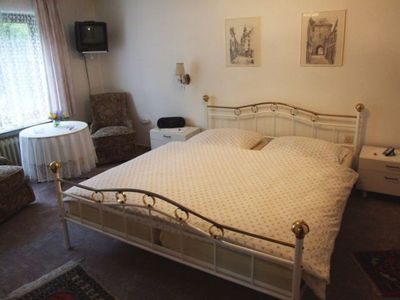 Photo for Double room with terrace or balcony - Pension Am Erlengrund