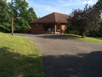 Photo for Serene And Secluded 3 Bedroom, 3 Bath On 23 Acres Of Wooded Paradise