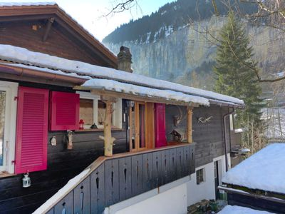 Photo for Apartment Stocki in Lauterbrunnen - 4 persons, 1 bedrooms