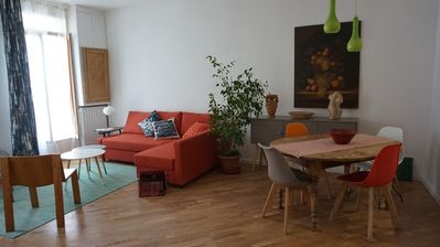 Photo for Beautiful apartment of 75m2, in the heart of Sète