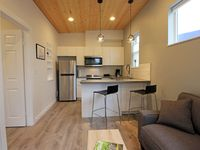 Terrific small home that was perfect for my husband and myself. Loved having the airconditioner.