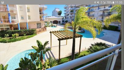 Photo for ROSAS, BEAUTIFUL APARTMENT 4 PERS WITH SWIMMING POOL NEAR BEACH