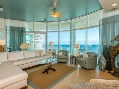 Photo for Spring Break is almost here! Book today! Stunning 4 Bdrm Gulf Front corner unit