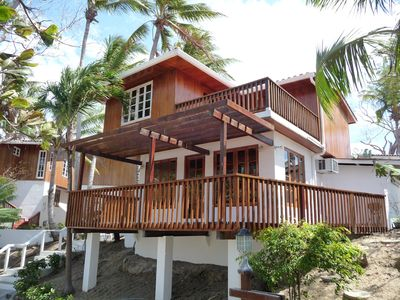 Photo for Oceanfront Villa on Contadora - Internet, Satellite and a Safe