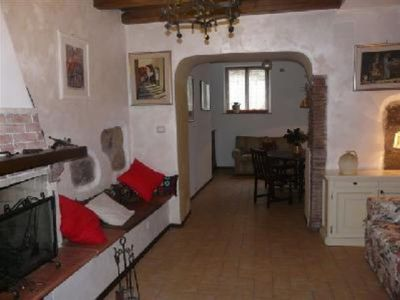 Photo for Mansion in medieval town with castle on Bolsena lake