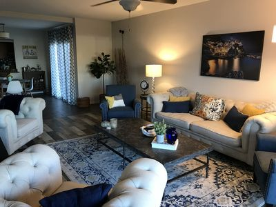 Photo for Modern upscale 2 bed/2 bath Phoenix condo/light-rail to downtown
