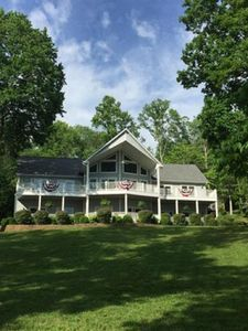 Photo for 5 BR 4.5 BA with a Stunning Lake View and Boat Slip
