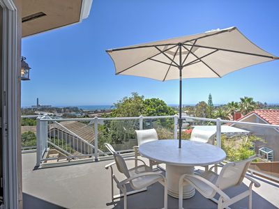 Photo for Upscale Carlsbad Home w/Ocean View - Mins to Beach