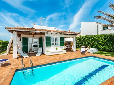 Photo for Villa Xapa: Large Private Pool, Walk to Beach, Sea Views, WiFi, Car Not Required