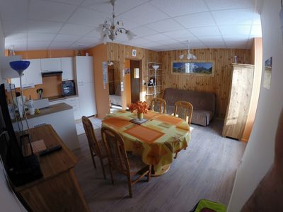 Photo for App 42 m2 special curiste, spacious holidaymakers and near the thermal baths and center