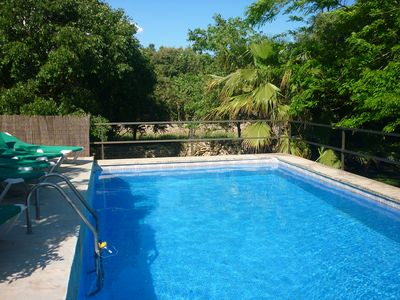 Photo for Sunset Ecofinca Can Vey - country house with private pool