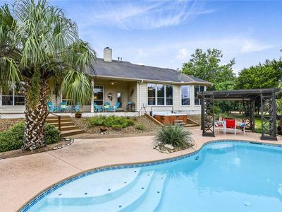 Photo for STAY HERE! WalkerVR CIRCLE J RANCH *Popular pool & hot tub retreat*
