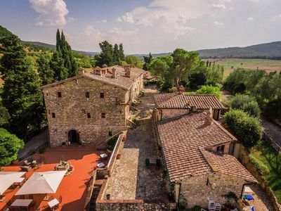 Photo for Spacious Holiday Home in Sovicille with Swimming Pool