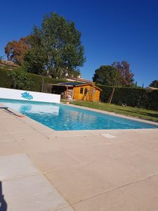 Photo for villa with private pool near sea with beautiful land