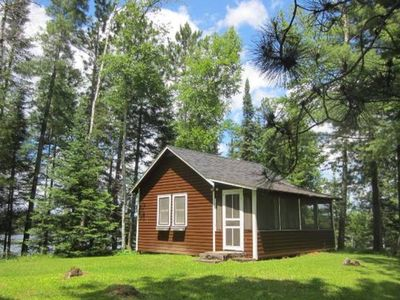 Photo for Turtle Point Outpost - Cabin Get Away on a Private Lake - Painted Turtle Cabin