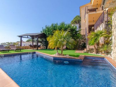 Photo for Club Villamar - Beautiful holiday villa with private swimming pool, enchanting gardens and panoramic sea views, suitable for the whole family!