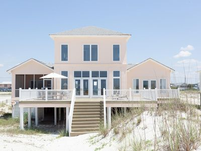 Photo for BEACH FRONT HOUSE WITH ROOM FOR THE WHOLE FAMILY! VIEWS & NEWLY UPDATED!!