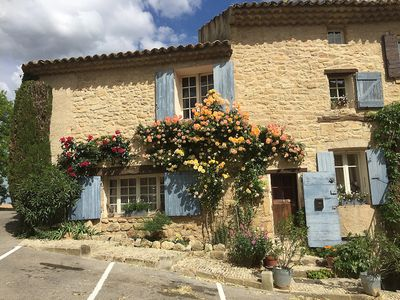 Photo for Charming house of the sixteenth century listed village of Ansouis - 2 terraces