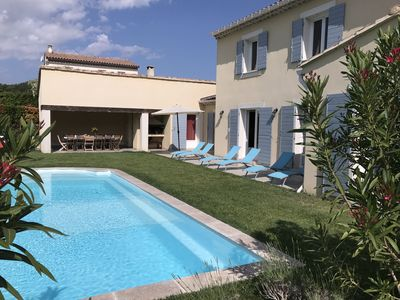 Photo for villa with swimming pool, Mont Ventoux view Campaign