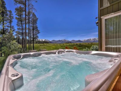 Photo for Tahoe Retreat on the Meadow- Hot Tub, Mtn Views, Close to Golf, Hikes, Lake