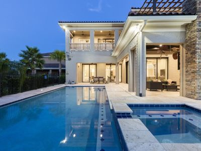 Photo for You and Your Family will Love this 5 Star Villa with Private Pool on Reunion Resort and Spa, Orlando Signature villa 1587