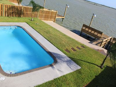Photo for New Bayfront Home With Pool
