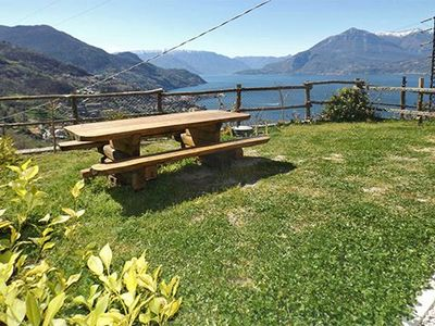 Photo for Holiday House Casa Collina with magnificient view over Lake Como