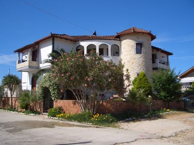 Photo for Holiday apartment Loutsa for 1 - 5 persons - Holiday apartment