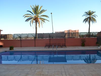 Photo for Majorelle s tower apartment with swimming pool