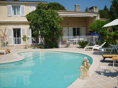 Photo for Villa with pool (sleeps 8). WIRELESS
