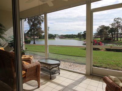 Photo for Naples Golf Vacation Rental at Beautiful Royal Wood with Amazing Lake View