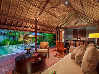 Photo for private villa seminyak with your family,friend and mate