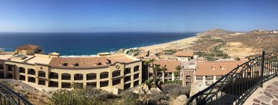 Sky Pool.  Quivira and Pacifica in the distance.