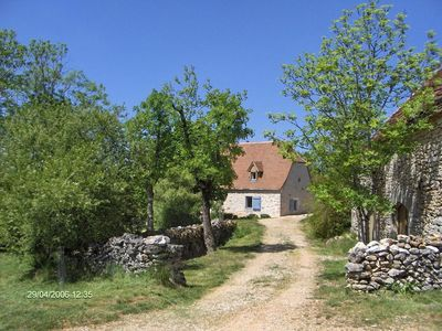 Grange et maison - The barn and the house