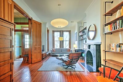 Explore DC from this ideally located 3-bedroom, 2.5-bath vacation rental!