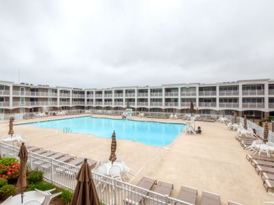 Photo for Mantoloking Condo w/ Private Beach Near Seaside!