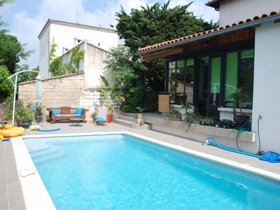 Photo for Beautiful Villa in Montpellier, with pool