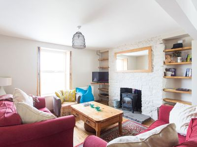 Photo for Beautiful house, woodburner & garden, local pubs, restaurants & stunning beaches