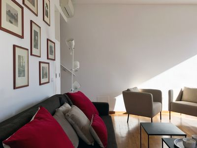 Photo for Amazing penthouse with beautiful terrace in the heart of Trastevere