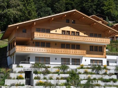 Photo for Apartment Chalet Rotstöcki in Grindelwald - 4 persons, 2 bedrooms