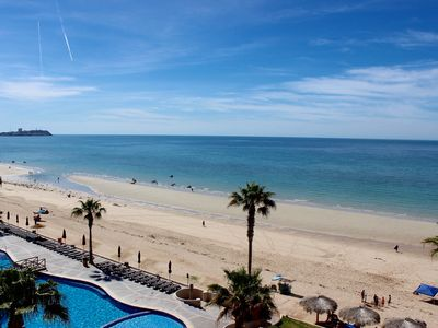 Photo for SW 504 Wonderfull 2 Bedroom 2 Bathroom Ocean Front unit at the Sonoran Sun