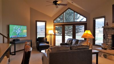 Ski-in/out Village,  < 500 YDS TO LIFT, Private  Shuttle, Mt & Golf Course Views