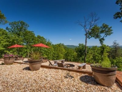 Photo for Privacy, luxury, and spectacular year round mountain views grace Majestic Hideaway.  Pet-friendly.