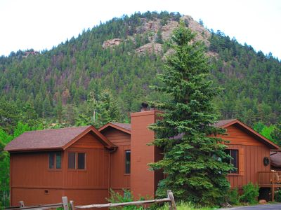 Photo for Estes Park Mountain Aspen Cabin*NEW Private Hot Tub*Views!! Lower Winter Rates!