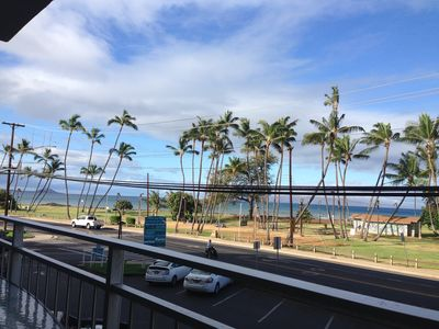 view from the living room, on a typical Maui day