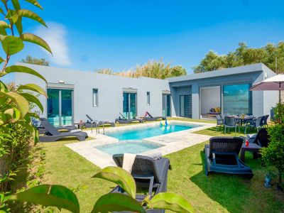 Photo for Beach Villa Ampela with private swimming pool