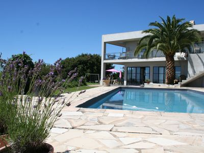 Photo for Panoramic seaview, close to Nice & Antibes, walk from middle age village